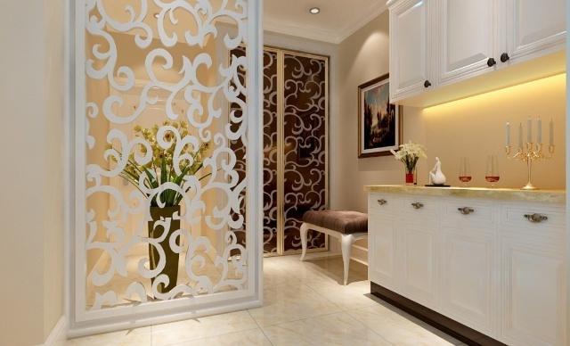 实创装饰装修 望京西院3居室简欧风格装修效果图高清图片