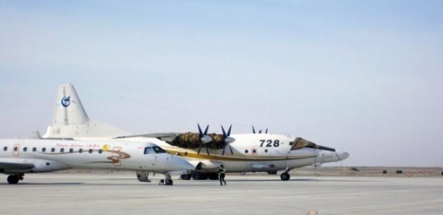 """编号""""728""""的飞机隶属于中国飞行试验"""