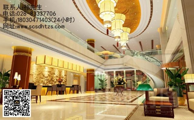 欧式风格酒店大厅餐桌
